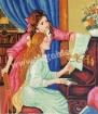 Goblen - Lectia de clavecin