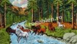 Goblen - Caii salbatici