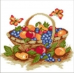 Goblen - Cos cu fructe