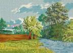 Goblen - Лято по реката
