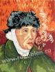 Goblen - Autoportret   dupa Van Gogh