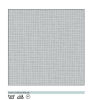 Goblen - Aida canvas light grey