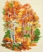Goblen - Bouleaux en automne