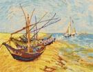 Goblen - Barcile pescarilor