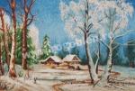 Goblen - Notte d'inverno con brina