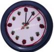 Goblen - Horloge avec coccinelles