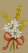 Goblen - Ble et marguerites