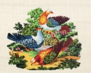 Goblen - Porumbei
