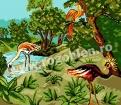 Goblen - Peisaj exotic