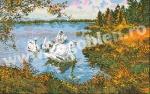 Goblen - Swans on the Lake