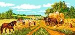 Goblen - Vremea secerisului