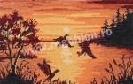 Goblen - Volo al tramonto