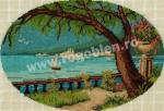 Goblen - Laguna albastra
