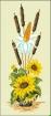 Goblen - Ikebana cu  floarea soarelui