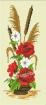 Goblen - Ikebana aux roses