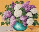 Goblen - Ikebana aux lilas