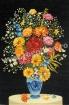 Goblen - Ansamblu floral