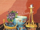Goblen - Still-Life with Violets