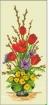 Goblen - Ikebana aux tulipe