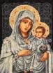 Goblen - Vierge en argent