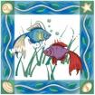 Goblen - Exotici marini   deco