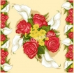 Goblen - Roses with Calla Lilies - Deco