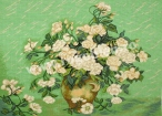 Goblen - Ploaie de trandafiri