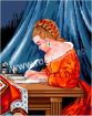 Goblen - Fata care scrie