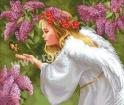 Goblen - Visul liliacului inflorit