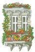 Goblen - Balconul meu, primavara