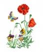 Goblen - Vara cu fluture albastru
