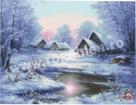 Goblen - Visul unei seri de iarna