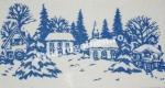 Goblen - Crochiu de iarna
