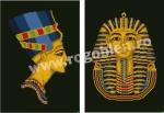 Goblen - Nefertiti e Tutankhamon