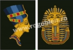 Goblen - Nefertiti si Tutankhamon