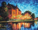 Goblen - Castel in noapte