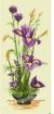 Goblen - Ikebana with Irises