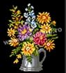 Goblen - Tazza con fiori
