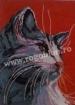 Goblen - Cap de pisica