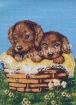 Goblen - Basket with Doggies