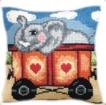 Goblen - Trenulet cu elefant