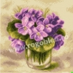 Goblen - Violets in a Glass
