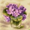 Goblen - Violettes dans un verre