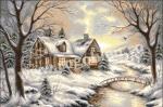 Goblen - Зима серебро