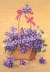 Goblen - Basket with Violets