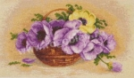Goblen - Basket with Anemones