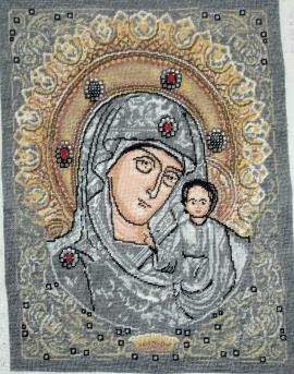 Goblen - Maica Domnului din Kazan