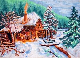 Goblen - Peisaj de iarnă