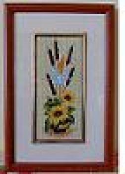 Ikebana cu floarea soarelui