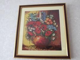 Goblen - Simfonie cu flori de camp